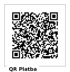 QR kód pro dar 1000 Kč