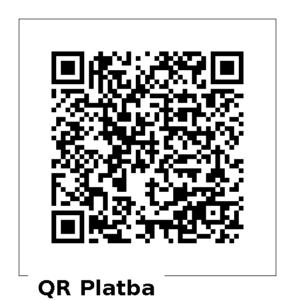 QR kód pro dar 200 Kč
