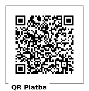 QR kód pro dar 500 Kč