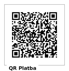 QR kód pro dar 300 Kč