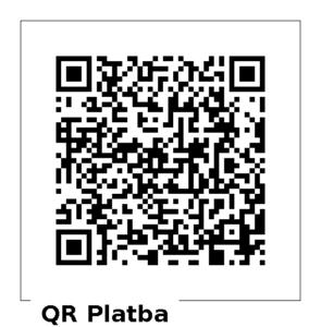 QR kód pro dar 800 Kč